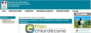 Plan Chlordécone - ChlEau Terre